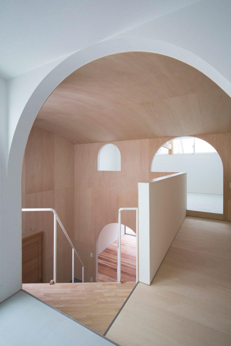 Maison à Yamaguchi au Japon, design intérieur : Container Design