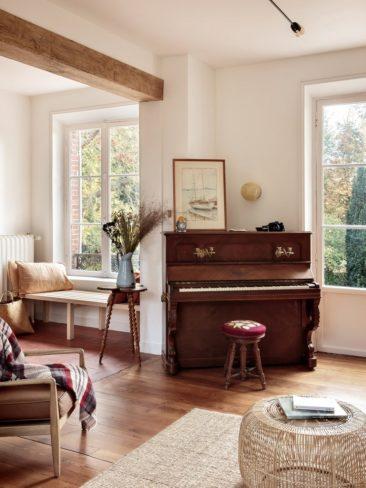 Maison d'hôtes Riverside House, mélange de meubles anciens et design actuel