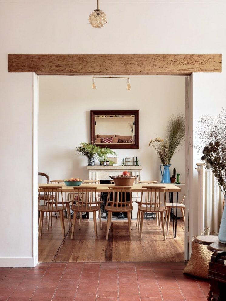 Maison d'hôtes Riverside House, simplicité, rusticité, modernité