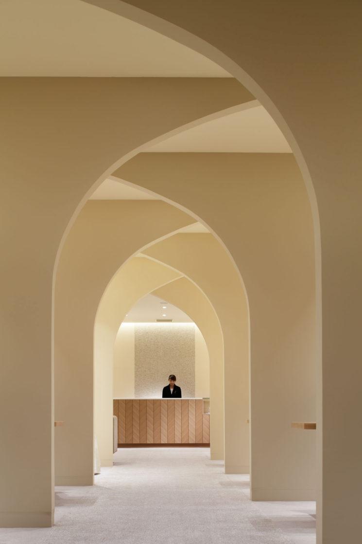 Planificateur de mariage au Japon, design intérieur : Ryo Matsui Architects