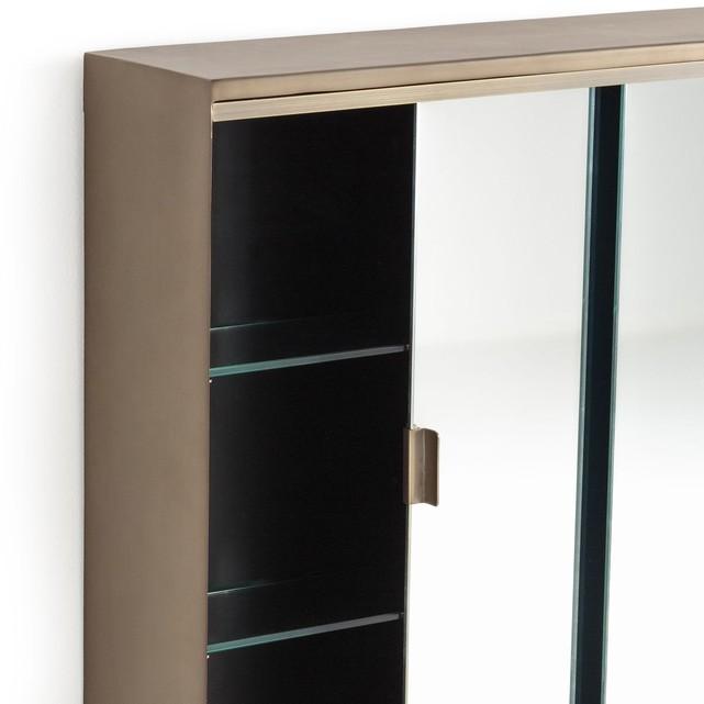 Armoire de toilette en métal vieilli bronze, Arimi - Ampm