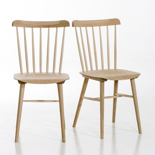 Chaise en hêtre massif, Ivy - La Redoute Intérieurs