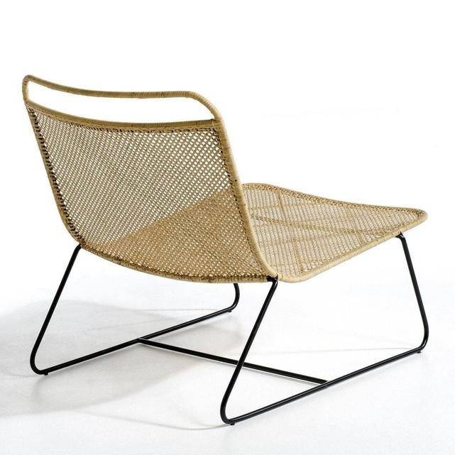 Fauteuil lounge Théophane, design E. Gallina pour Ampm