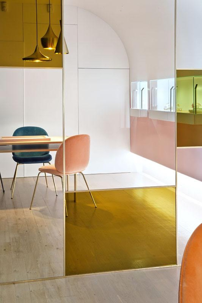 Boutique Nuun Jewels, design intérieur : Brunoir & Java Architecture