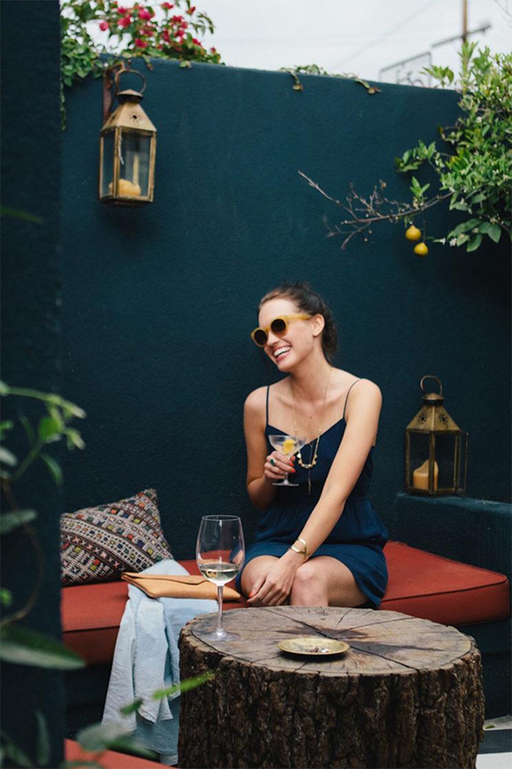 Elise Joseph au cafe Stella
