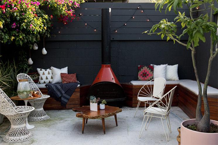 La terrasse rénovée de Sarah Sherman Samuel