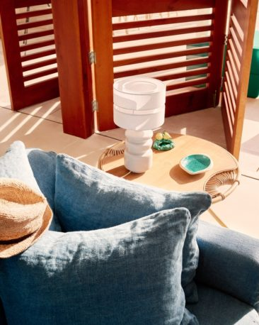 Villa Riviera, une ambiance tropicale colorée