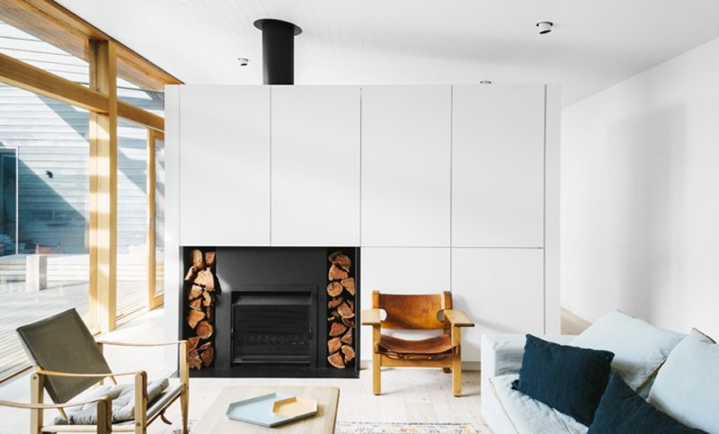Beach residence à Sorrente à l'esprit scandinave - Design intérieur : Shareen Joel Design