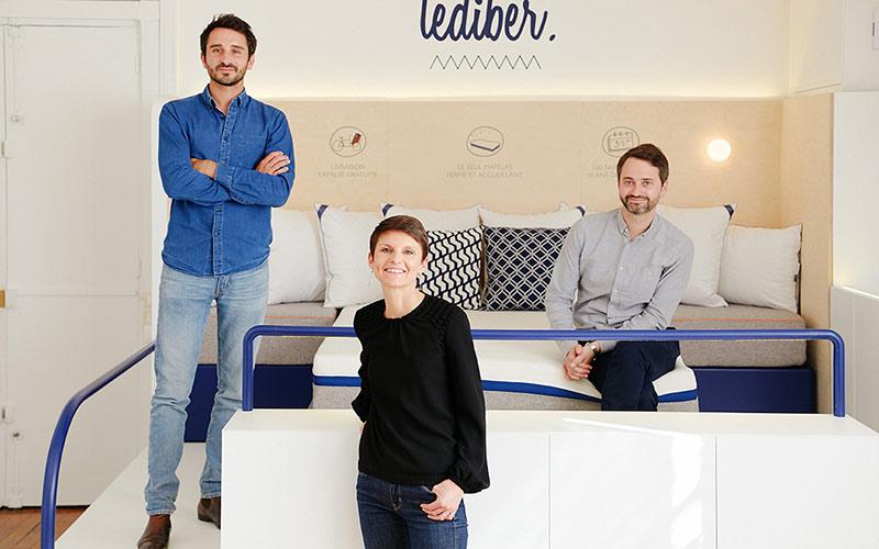 Les co-fondateurs de la marque Tediber