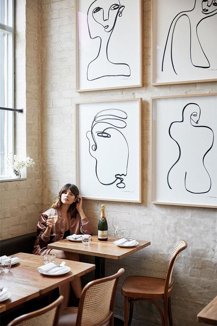 [ Tendance déco ] Esquisse et autres ébauches // The Paddington Inn à Sydney