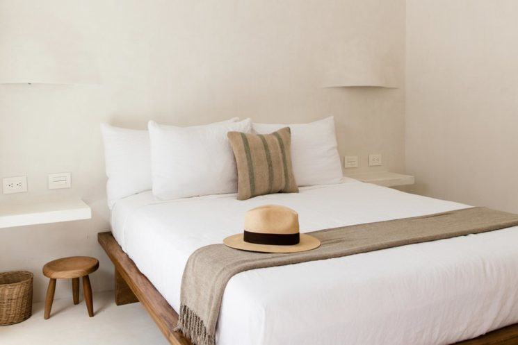 L'hôtel Casa Pueblo à Tulum, esprit hippie minimaliste