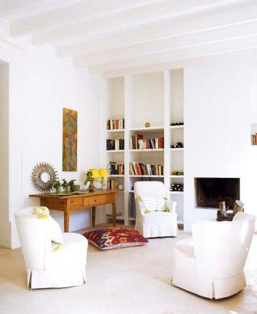 """Une maison à Majorque qui joue la carte """"brocante"""" // Architecte Thomas Wegner"""