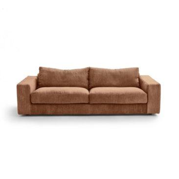 Canapé en lin stonewahed latérite, Skander sur Ampm