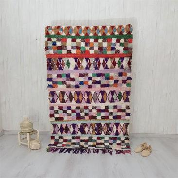 Tapis Boucherouite sur la boutique Etsy - IBABA Rugs