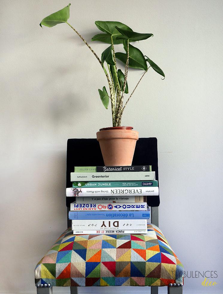 Mes quatre livres préférés plantes et décor