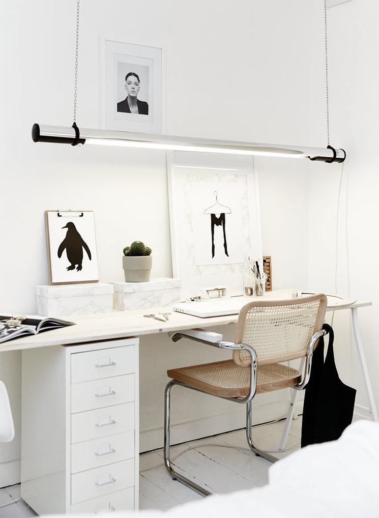 Aménager son bureau à domicile - Soigner l'éclairage