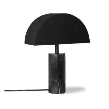 HK Living , Pied de lampe en marbre Noir