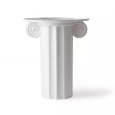 HK Living - Vase grec en céramique mat