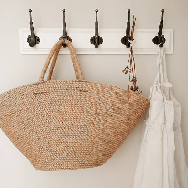 Panier en corde jute - Boutique Etsy Nuage Home