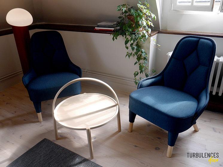 """Institut Suédois - Studio """"Murmure de couture"""" par l'entreprise Gärsnass et le studio de design Färg & Blanche"""