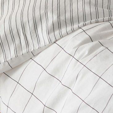 La Redoute Intérieurs - Housse de couette coton lavé, Monille