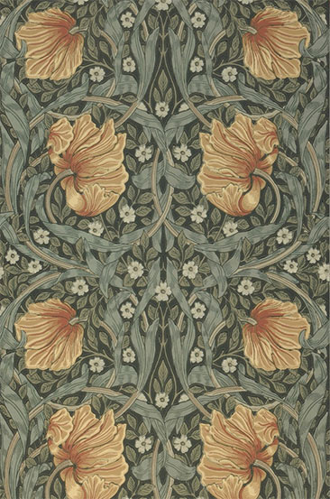 Papier-peint William Morris - Modèle de papier-peint Despina