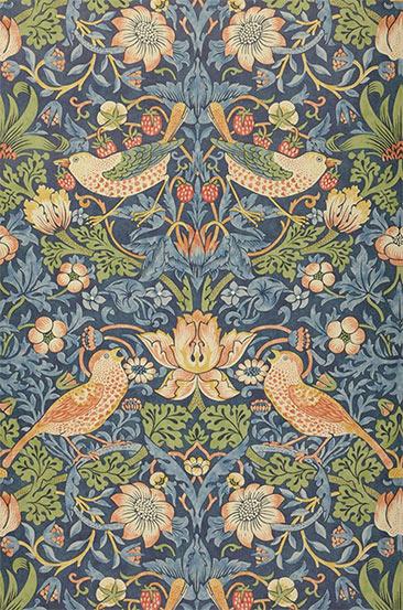 Papier-peint William Morris - Modèle de papier-peint Faunus
