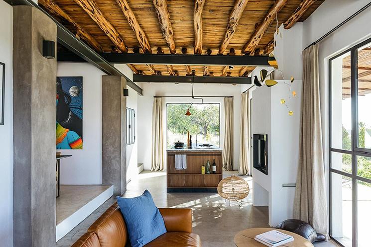The Campo Loft à Ibiza entre style industriel et rustique