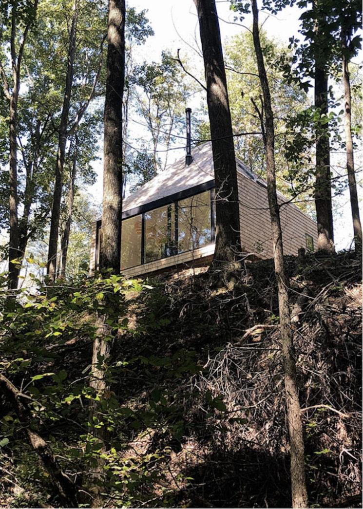The Hut, un projet de l'agence Midland // une maison/cabane, au style moderne rustique