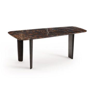 Ampm - Table à manger en marbre, Dolmena