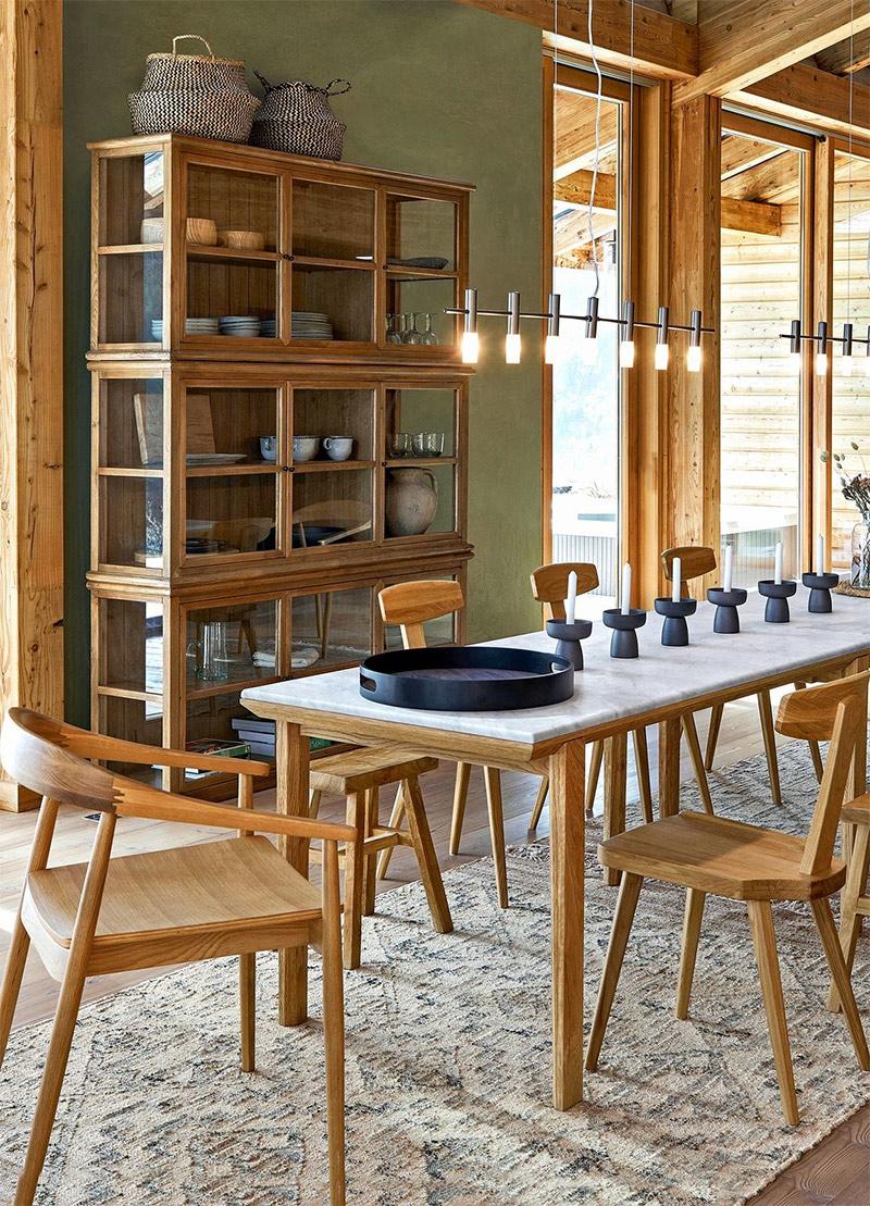 AMPM - Table de repas Campania design E. Gallina