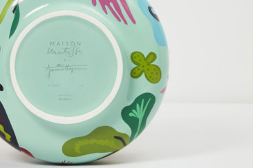 Vase en faïence Oceanographic par le designer Jaime Hayon pour la Maison Matisse