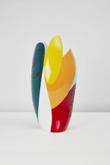 Vase Sinuoso par le designer Alessandro Mendini pour la Maison Matisse