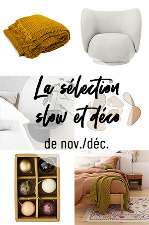 Sélection shopping slow et design - Turbulences déco