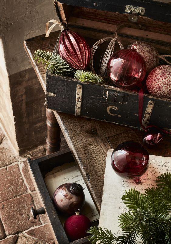 Noël 2019 : Retour du Noël traditionnel, ...mais revisité - Catalogue de Noël Alinea
