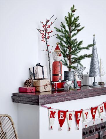 Noël traditionnel suédois, mais en mode actuel pour le catalogue de Noël 2019 Bloomingville
