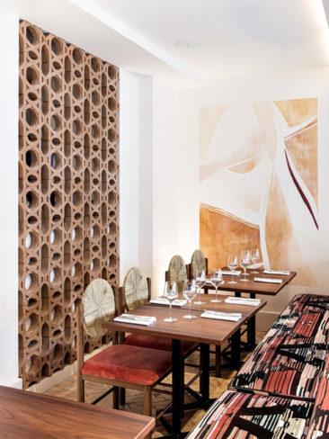 LLe style méditerranéen à tendance French Riviera // e restaurant La Riviera par le studio Friedmann & Versace - Paris 10