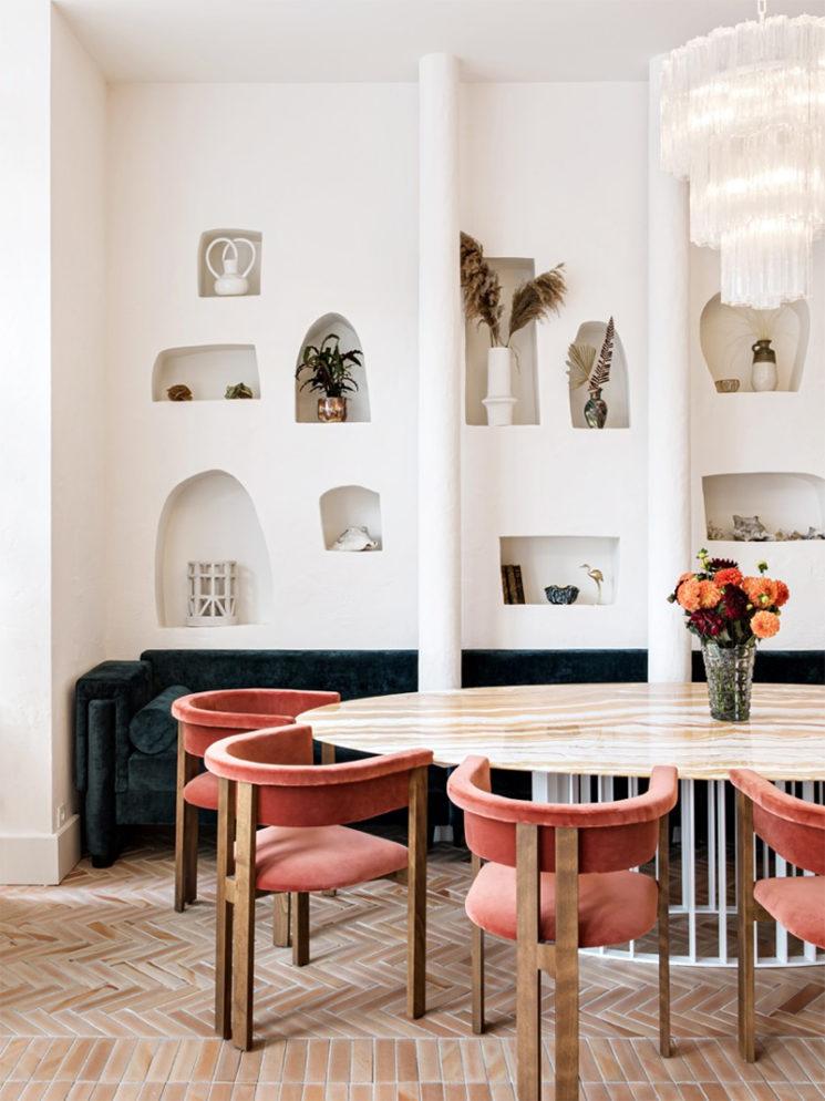 Le style méditerranéen à tendance French Riviera // Le restaurant La Riviera par le studio Friedmann & Versace - Paris 10