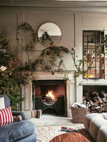 Ambiance traditionnelle, revisitée avec des éléments naturels - Catalogue de Noël 2019, Zara Home
