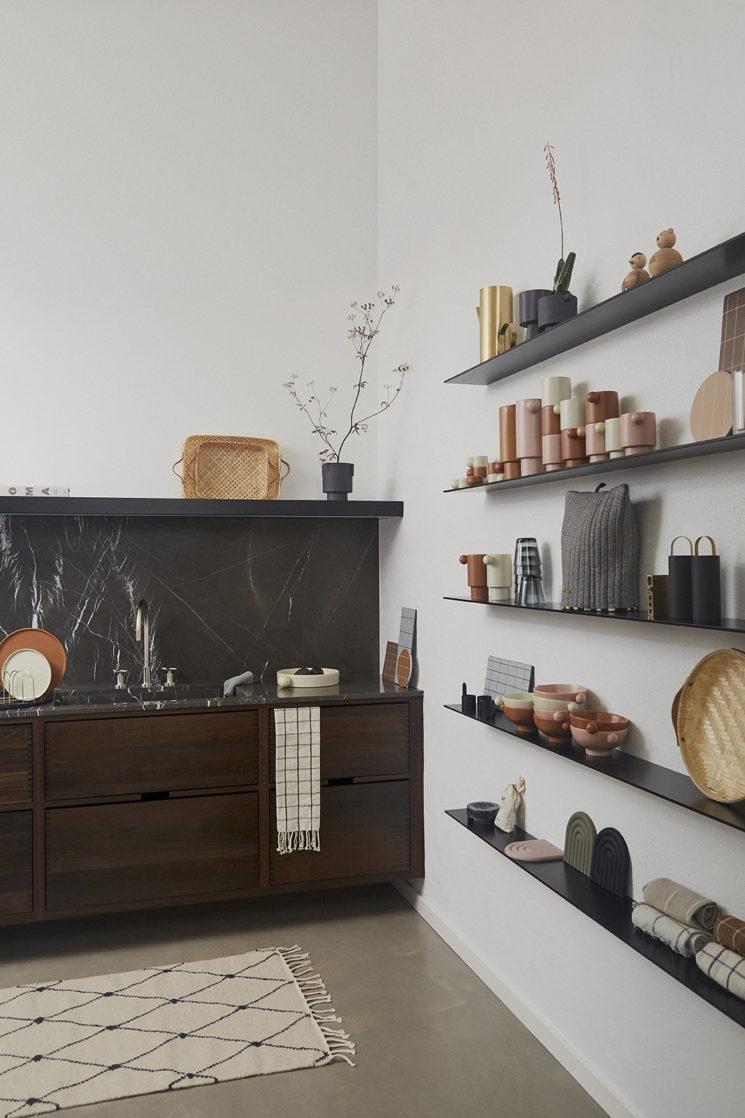 Une cuisine design // Catalogue OYOY, Automne-Hiver 2019