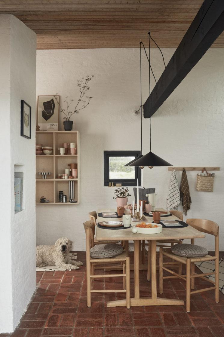 Une maison scandinave moderniste // Catalogue OYOY, Automne-Hiver 2019