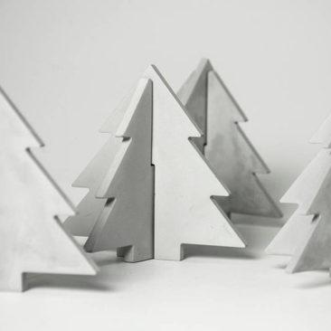 Sapin de Noël décoratif en béton - Boutique A Mano Design sur Etsy