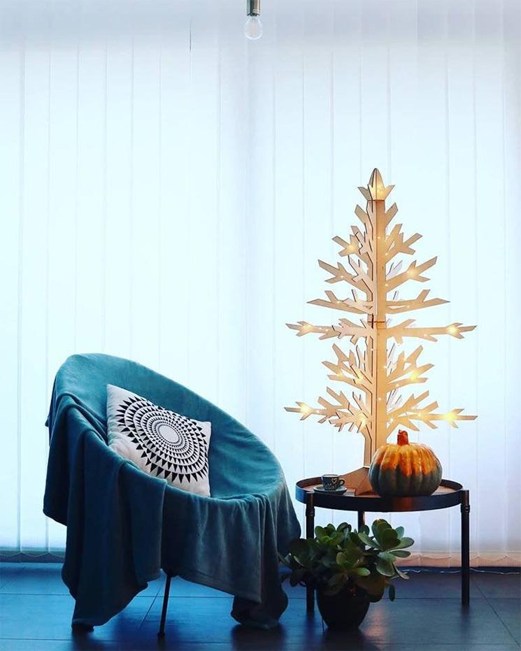 Boutique Etsy Laka Lula - Sapin de Noël découpe lazer