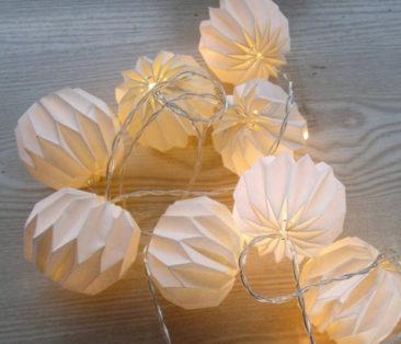 Guirlande lumineuse de 2,50m, Origami - Boutique My Elume sur Etsy