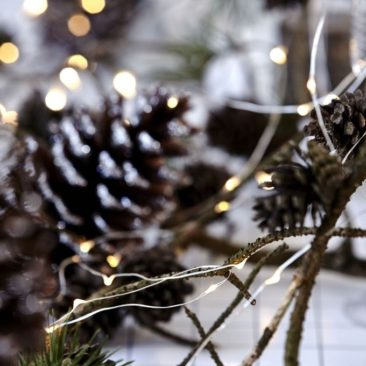 Guirlande lumineuse de Noël de 10m en laiton - House Doctor