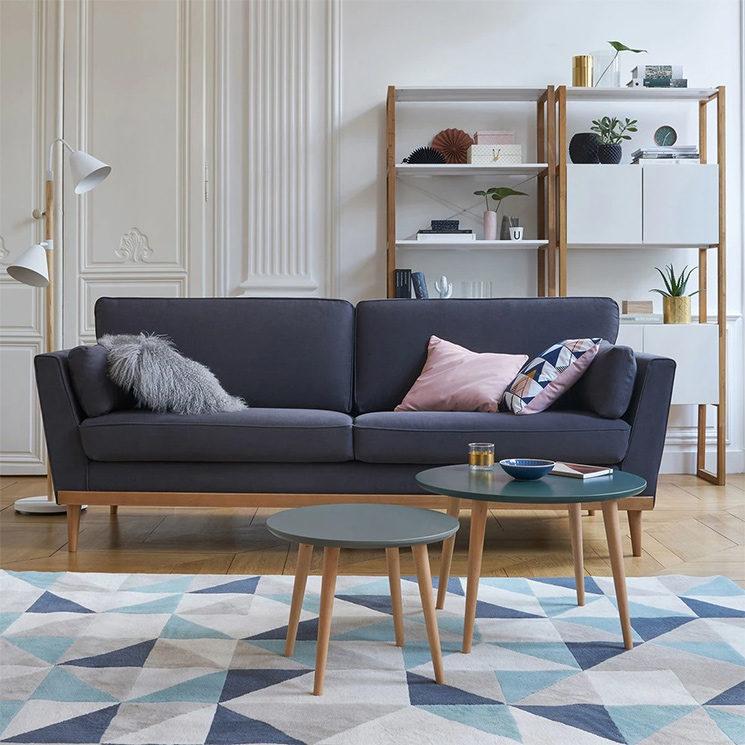 La redoute Intérieurs - Canapé vintage 3 et 4 places, Tasie