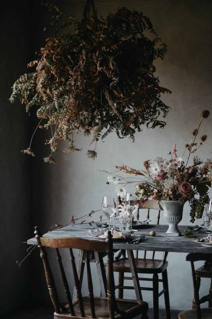 Nuage de fougères séchées par Skillad florals