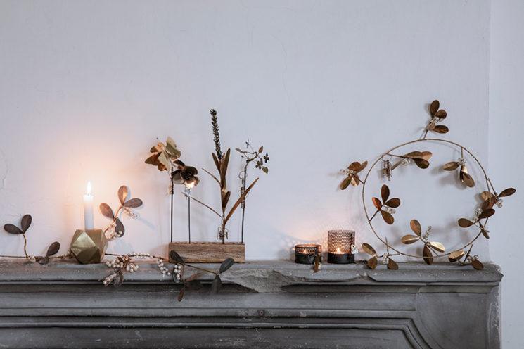 Décors de Noël en laiton - Walther&co