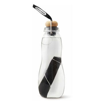 Bouteille filtrée en verre Noir - Black + Blum