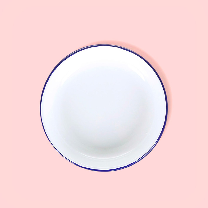COUTUME, quincaillerie design en ligne - ASSIETTE PLATE